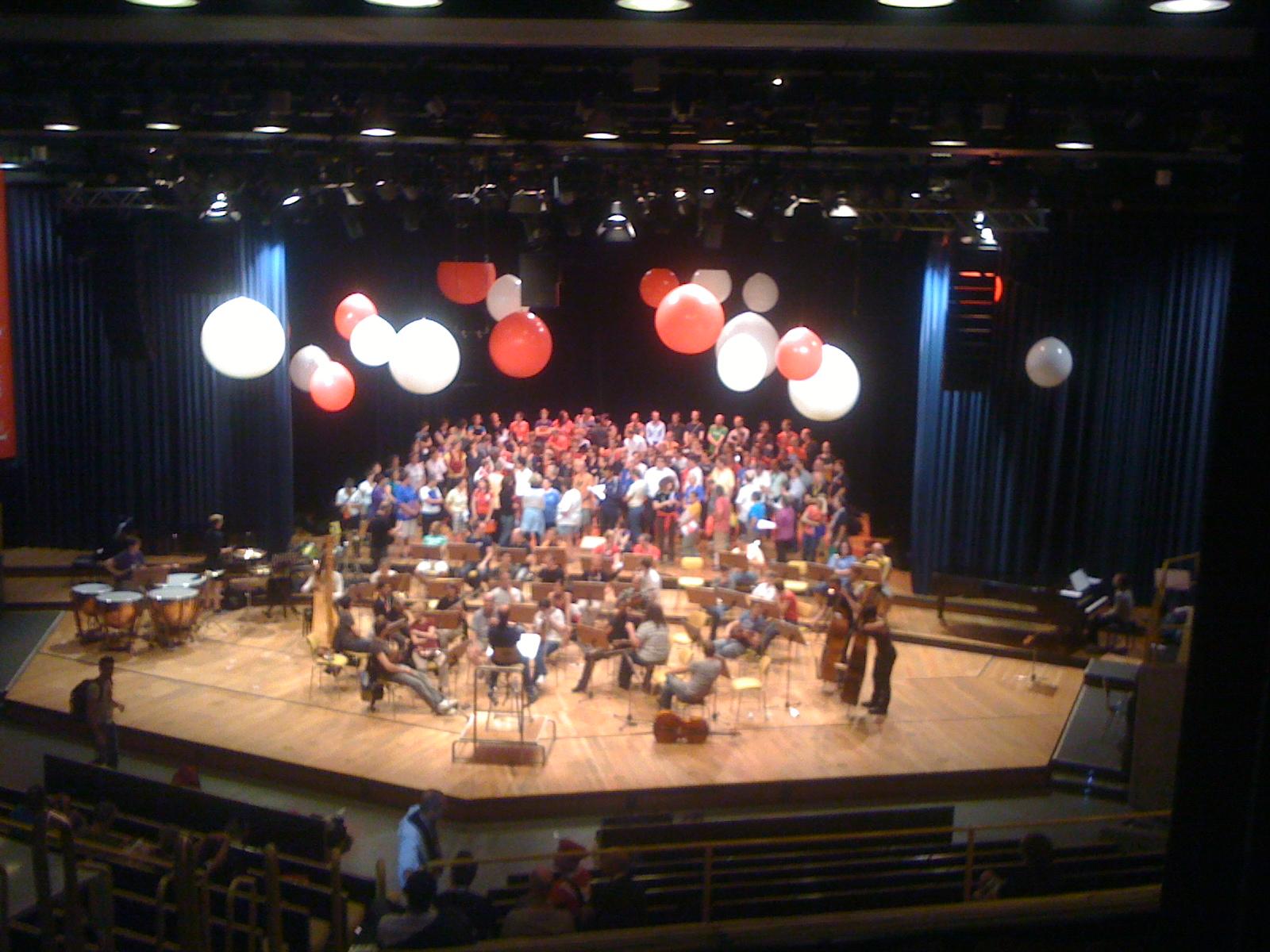 Gala Concert Dress Rehearsal